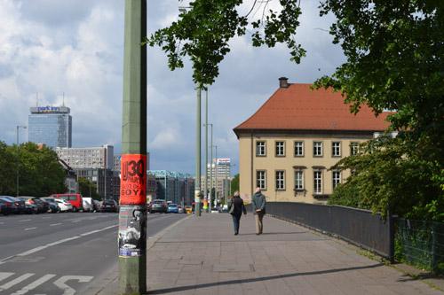 Mühlendammbrücke Berlijn