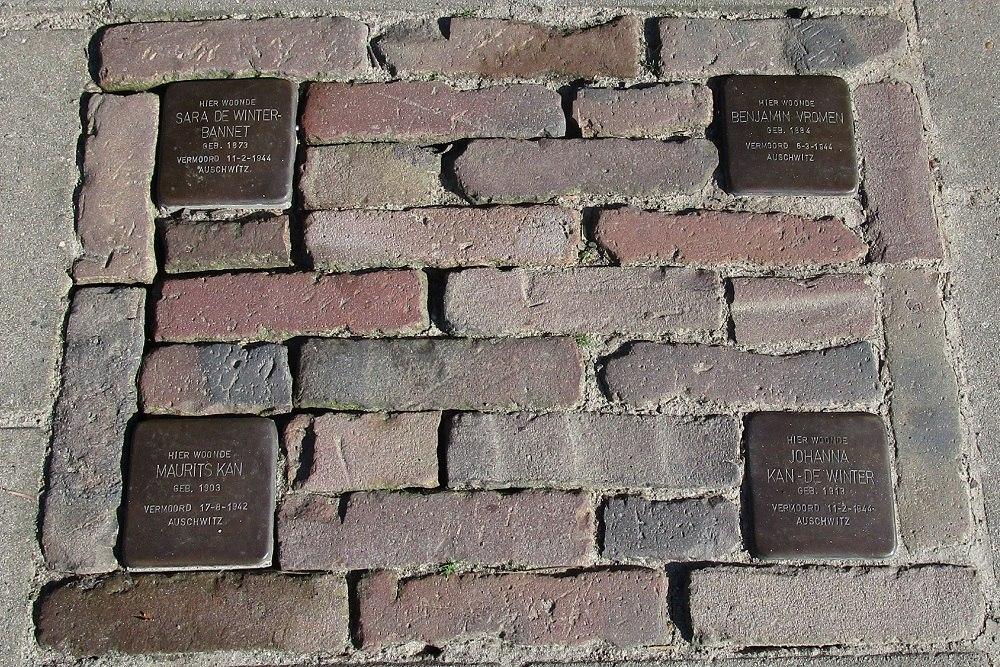 Herdenkingsstenen Bornsestraat 184