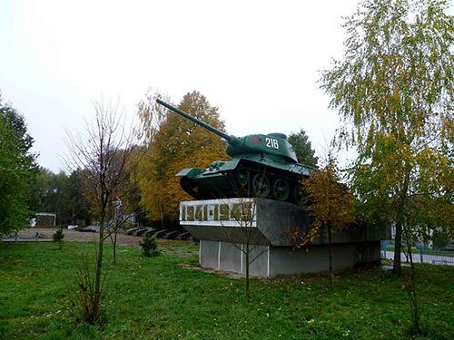 Sovjet Oorlogsbegraafplaats Ivanychi