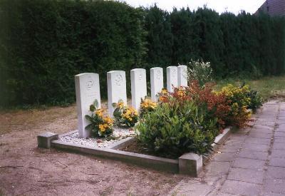 Commonwealth War Graves Roman Catholic Churchyard Kilder