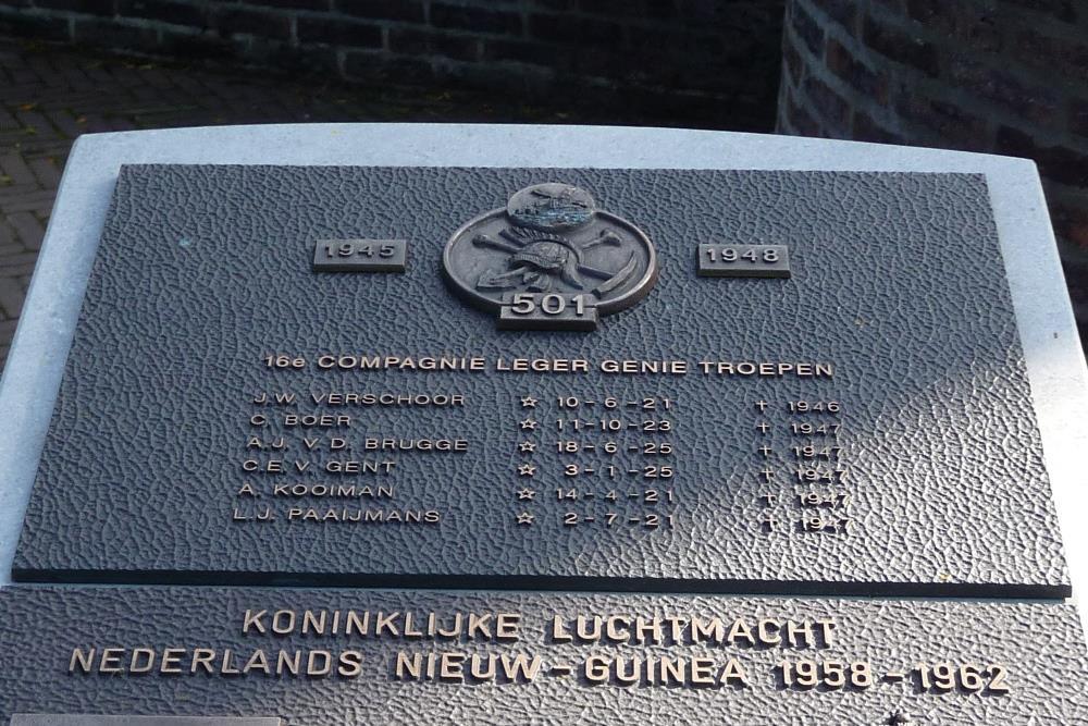 Plaquette 16e Compagnie Leger Genie Troepen