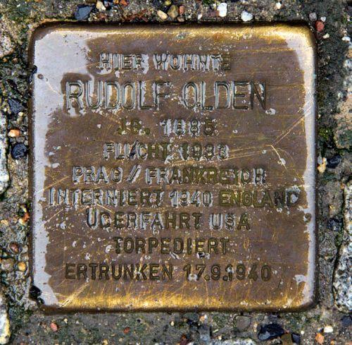 Stumbling Stone Genthiner Straße 8