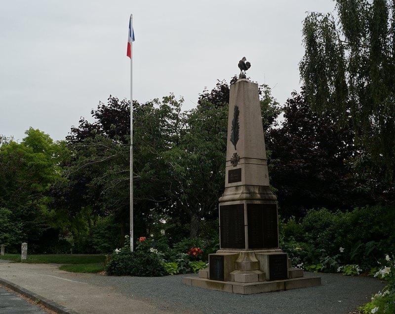 Oorlogsmonument Bourg-sous-la-Roche-sur-Yon
