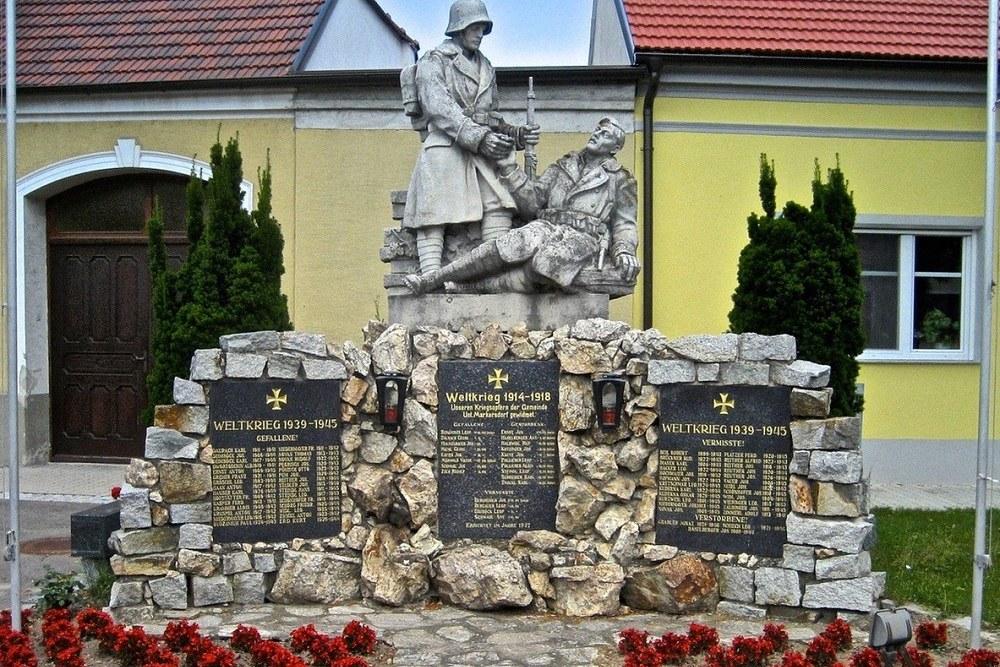 Oorlogsmonument Untermarkersdorf