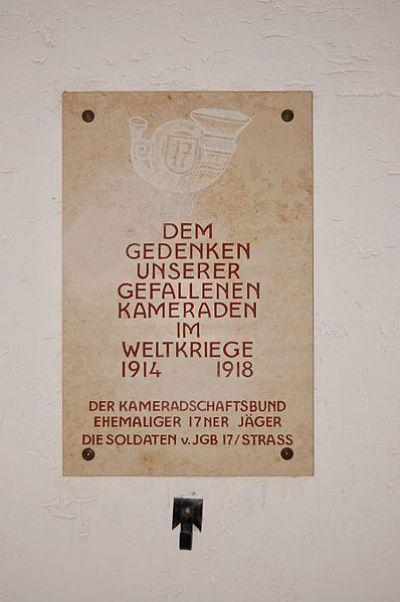 War Memorial 17th Jägerbataljon