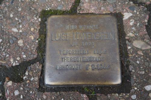 Stumbling Stone Schwartzstraße 14