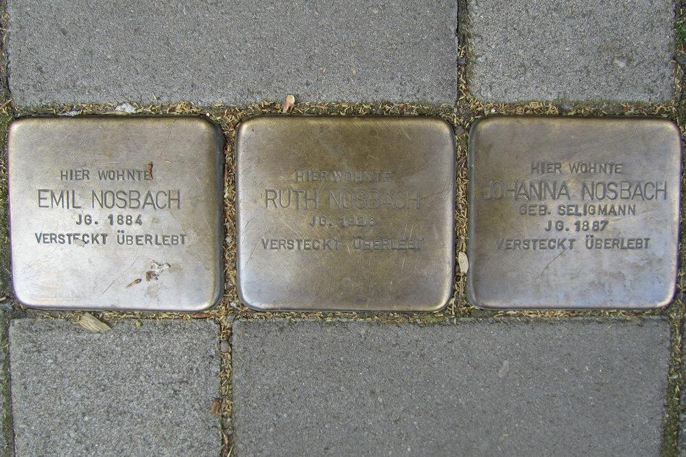 Stolpersteine Greesbergstraße 11
