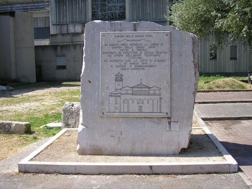 Monument Vernieling Santa Maria delle Cinque Torri
