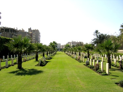 Commonwealth War Cemetery Port Said