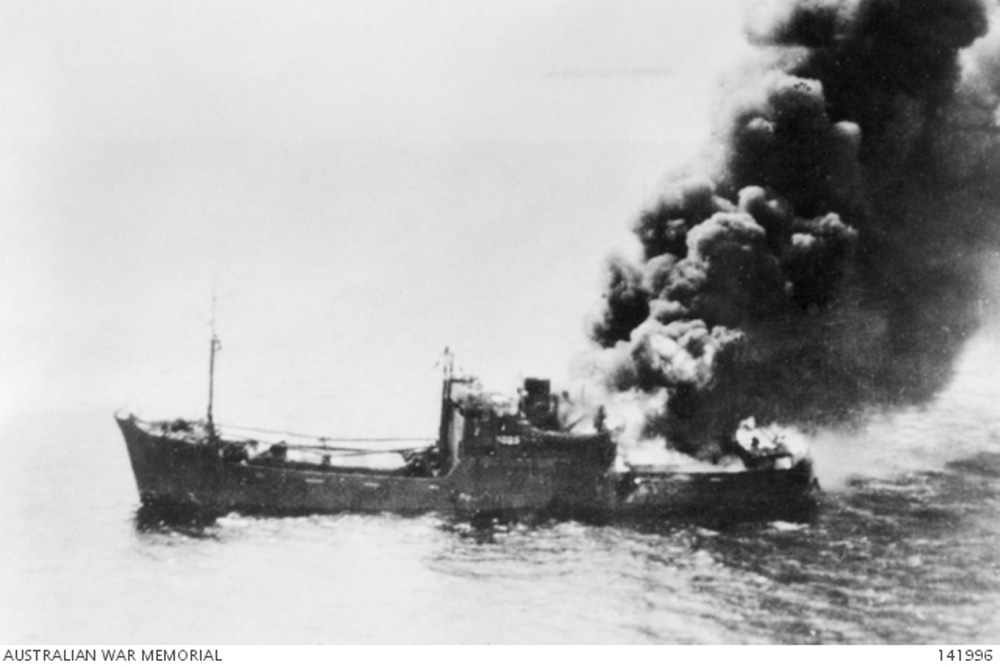 Shipwreck Kembu Maru