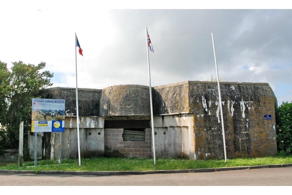 Atlantikwall - Batterie Mont-Fleury