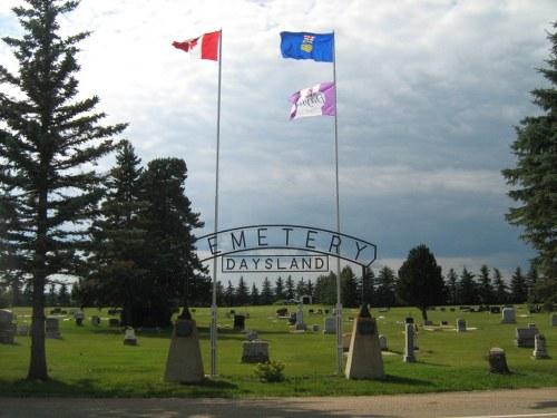 Commonwealth War Graves Daysland Cemetery