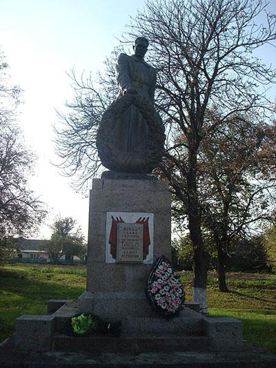 Mass Grave Soviet Soldiers Velyki Krynky