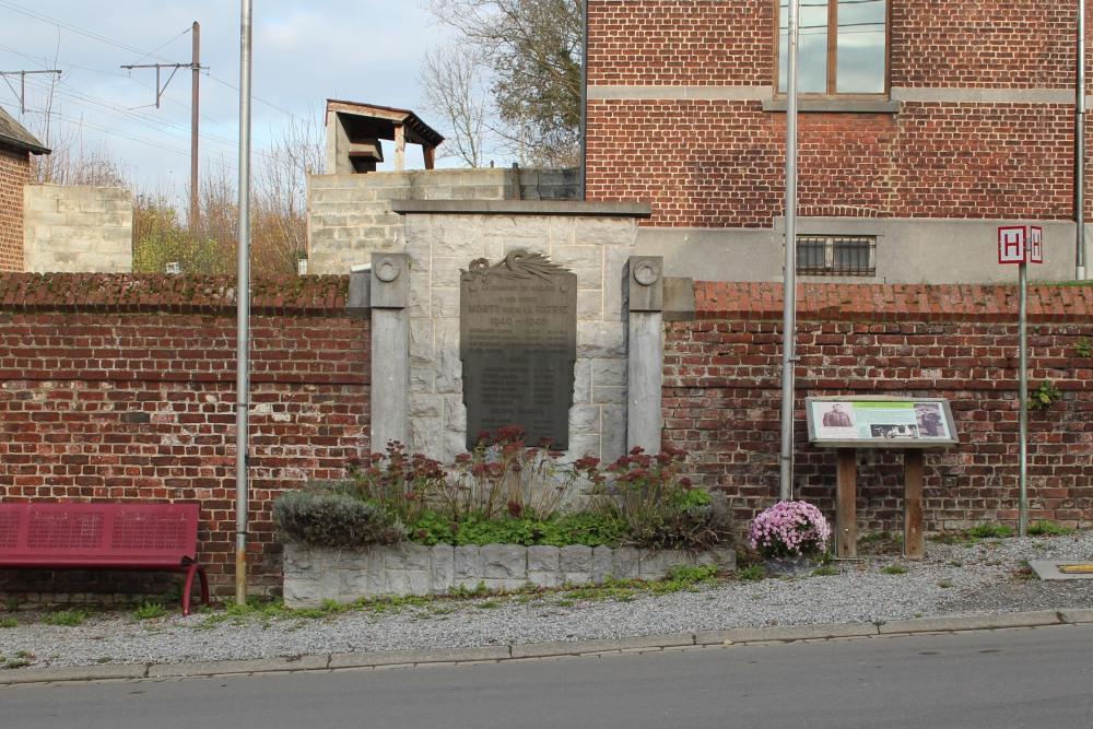 Monument Tweede Wereldoorlog Baulers