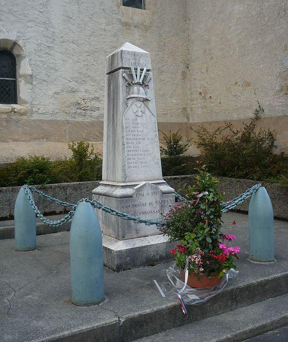 World War I Memorial Le Sappey-en-Chartreuse