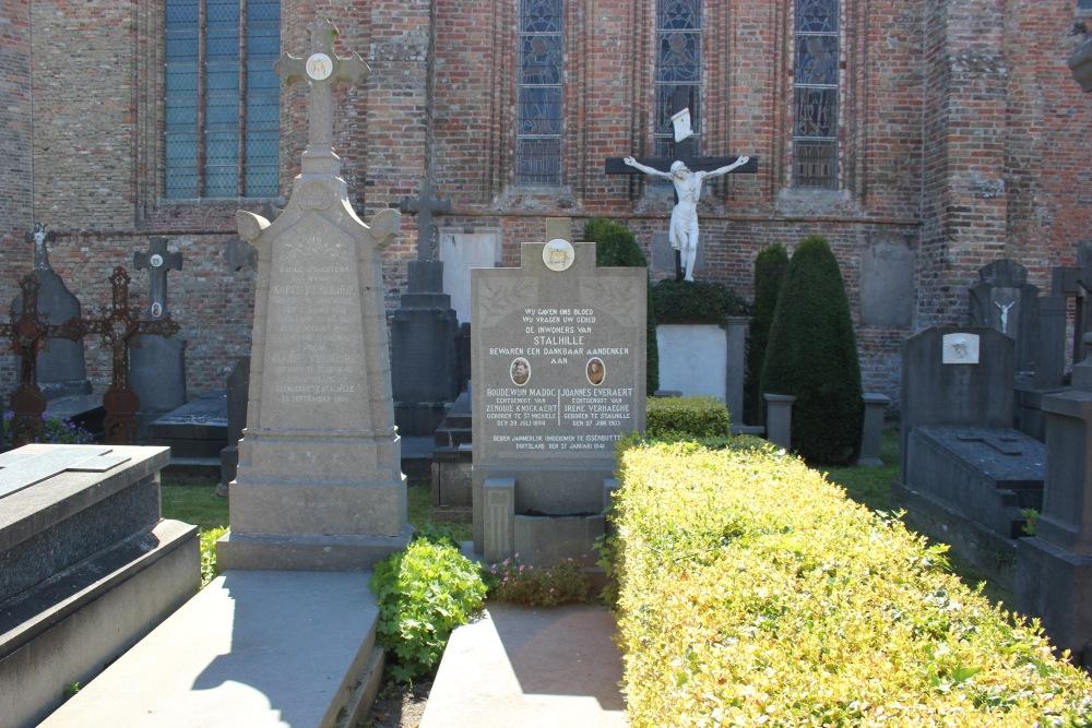 Collective Belgian War Grave Stalhille