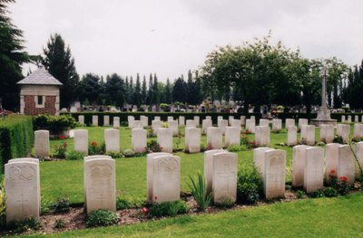 Commonwealth War Graves Lille