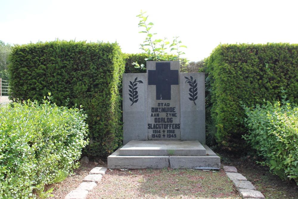 Oorlogsmonument Begraafplaats Diksmuide
