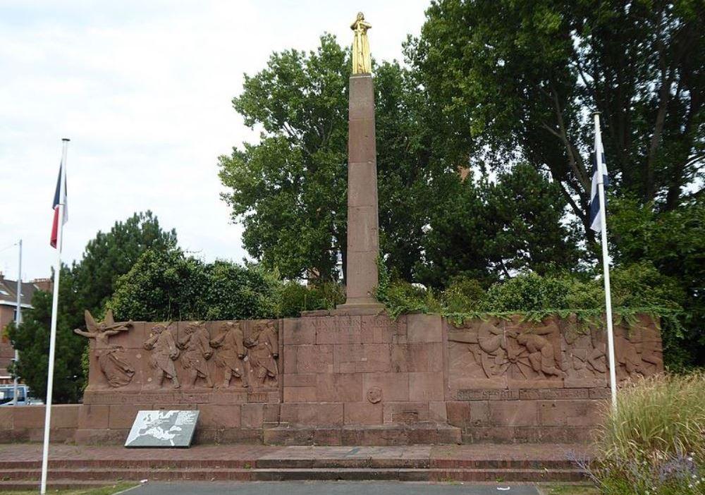 Memorial Killed Naval Sailors Dunkirk