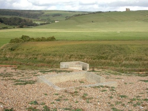 Vickers MG Emplacements Abbotsbury