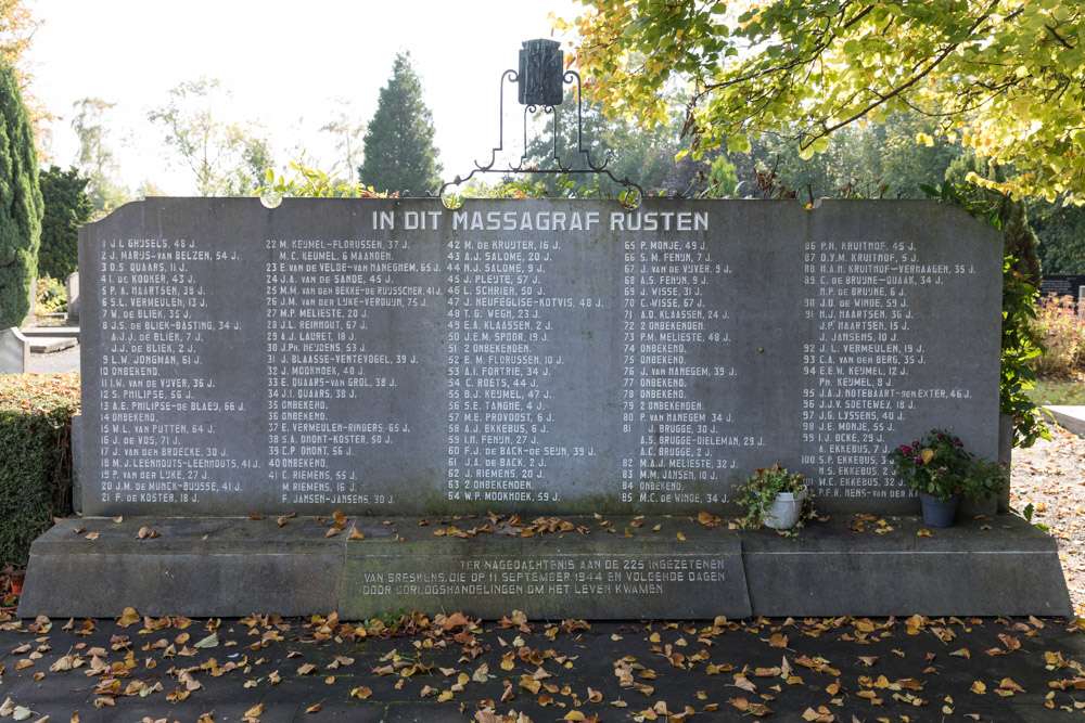 Nederlandse Oorlogsgraven Breskens
