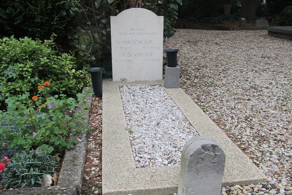 Dutch War Graves Dutch Reformed Cemetery Voorschoten