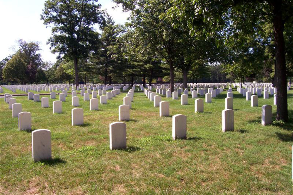 Amerikaanse Oorlogsgraven Rock Island National Cemetery
