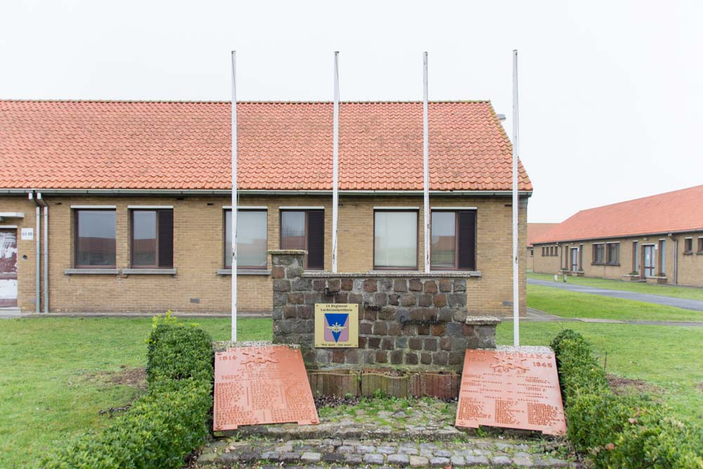 Memorial Fallen 14th Artillierie