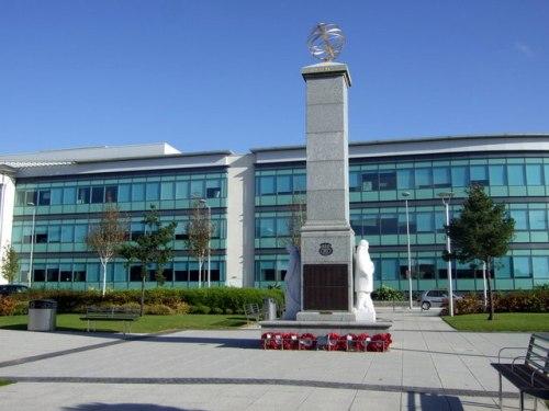 Monument Omgekomen Zeelui en Vissers