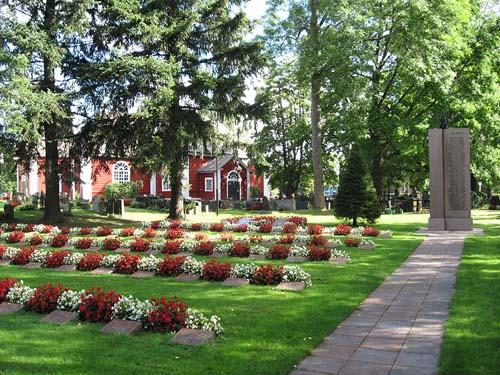 Finse Oorlogsgraven Karkkila