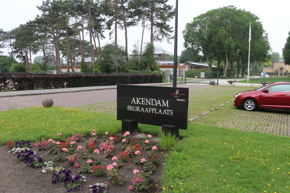 Nederlandse Oorlogsgraven Gemeentelijke Begraafplaats Akendam