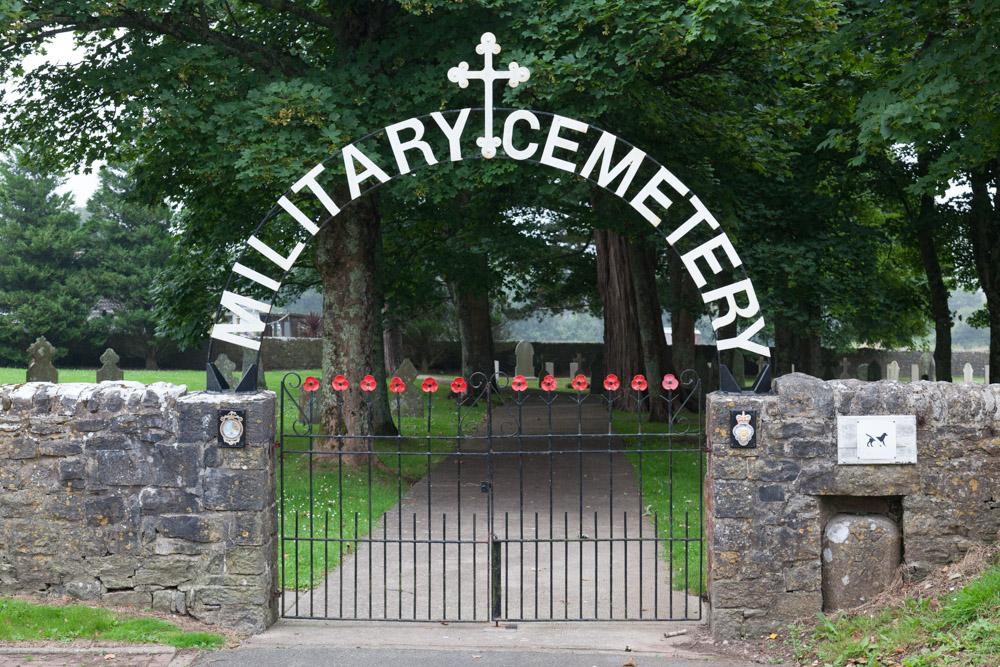 Commonwealth War Graves Pembroke Dock Military cemetery
