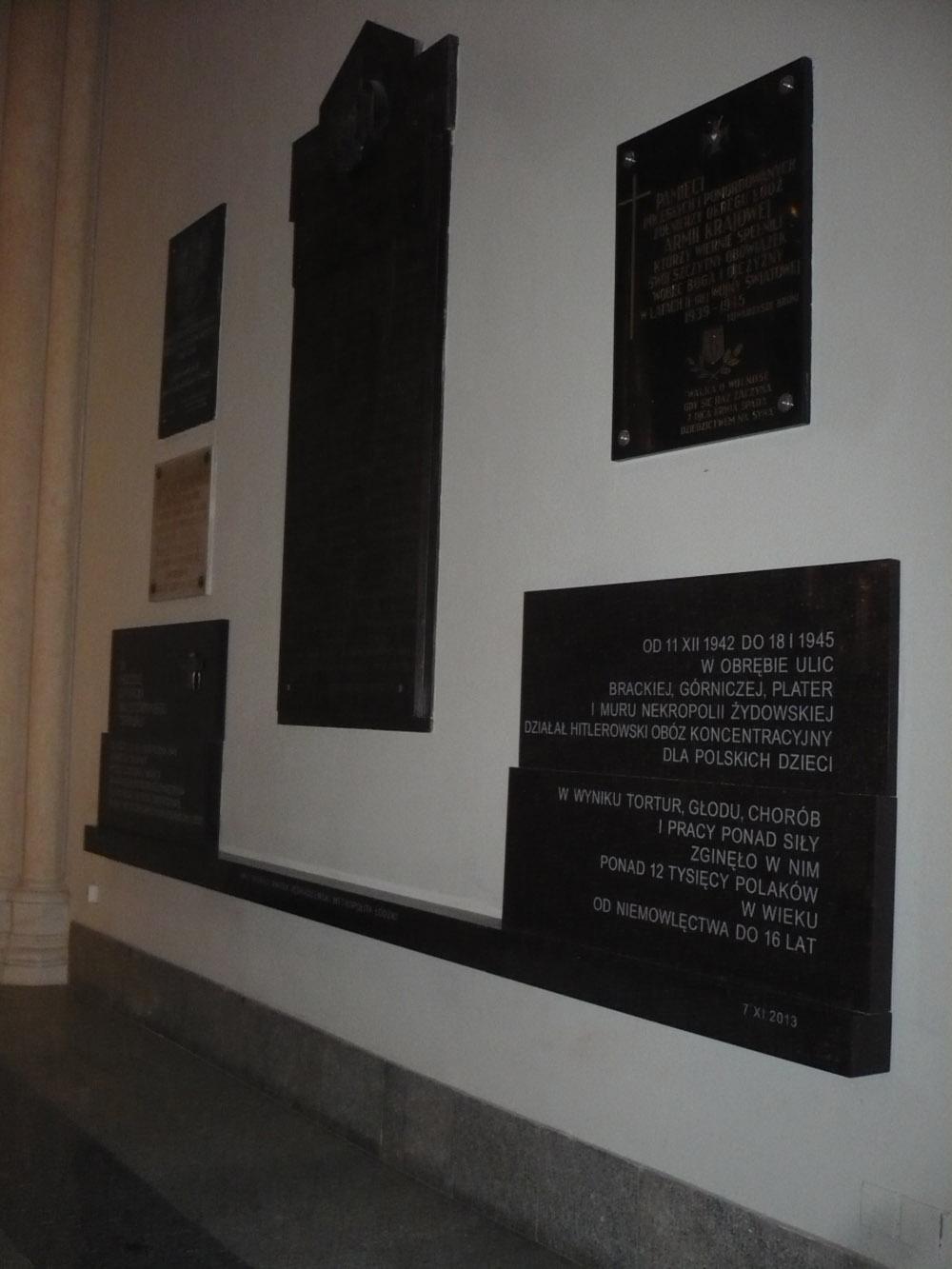 Plaques Bazylika archikatedralna św. Stanisława Kostki