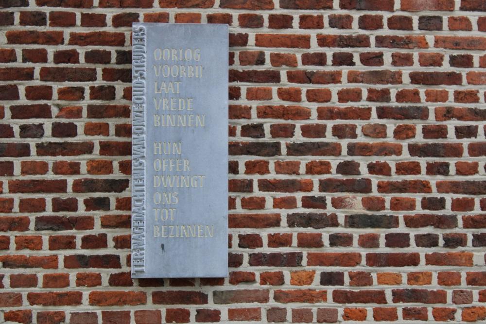 Monument en Ereperk Oudstrijders Buken