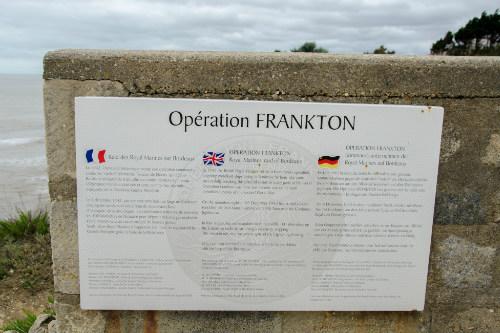Herdenkingsplaat Operation Frankton