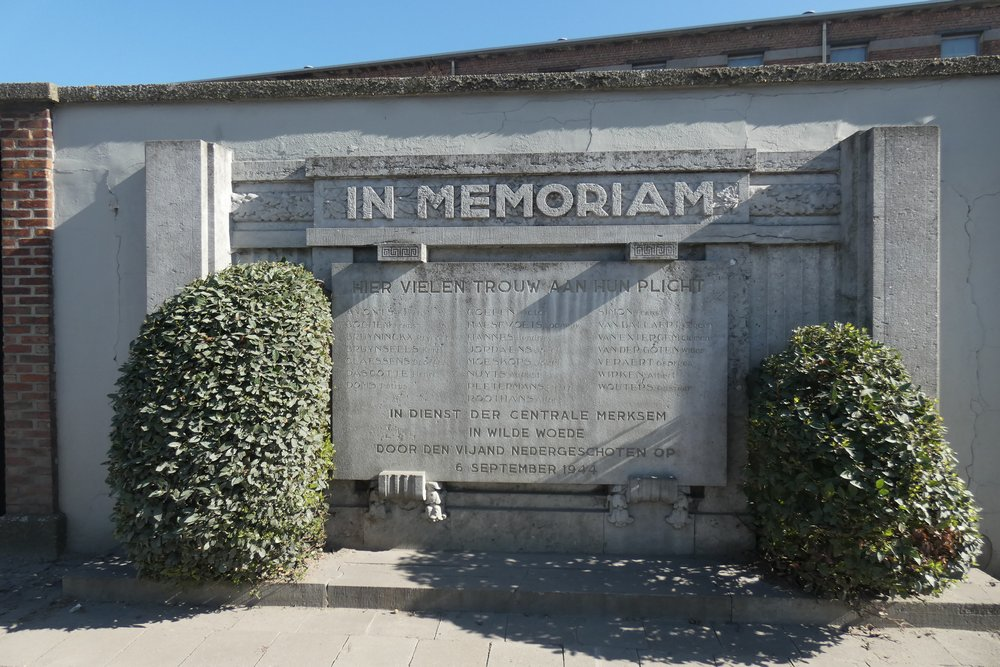 Monument De Schelde in Merksem