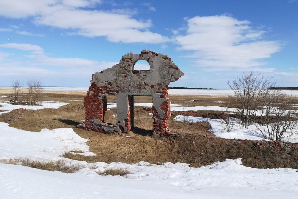 Ruïnes Militair Ziekenhuis Yagorskiy Rog
