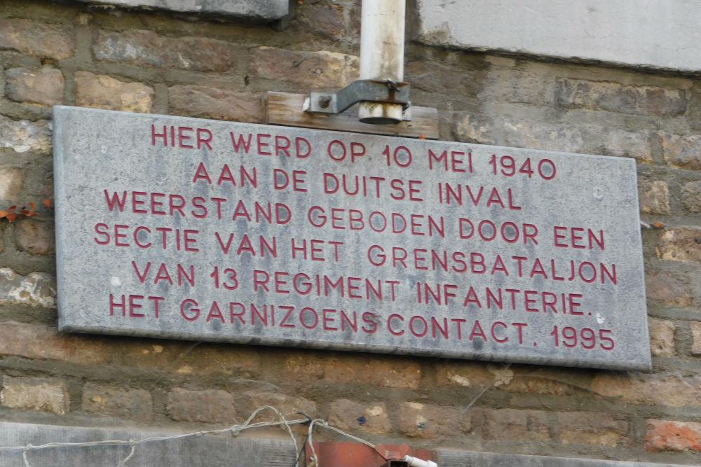 Monument 13e Regiment Infanterie