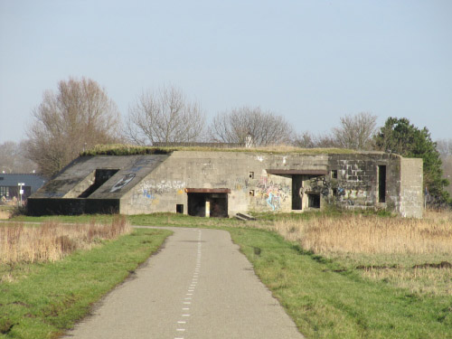 Stützpunkt Krimhild Landfront Vlissingen New Abeele bunker 3 type 625