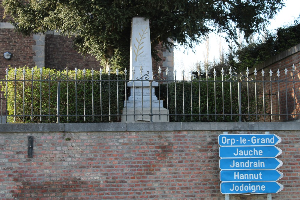 War Memorial Jandrenouille
