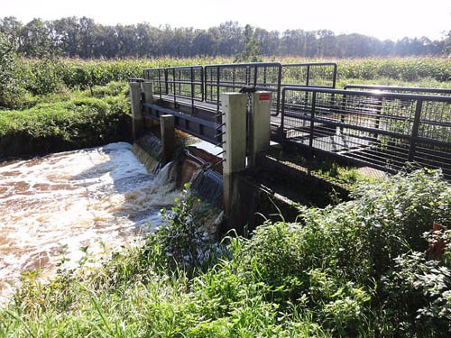 Peel-Raamstelling - Weir Kapelweg (Mill)