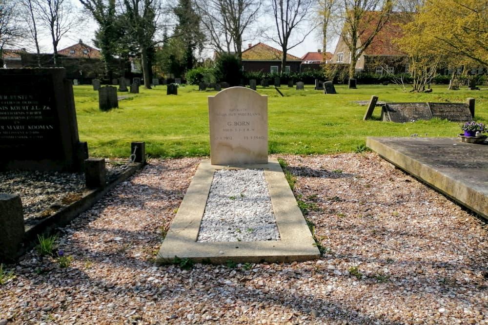 Nederlands Oorlogsgraf  Protestantse Begraafplaats Middelharnis