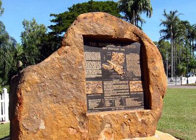 Darwin Bombing 19-2-1942 Memorial