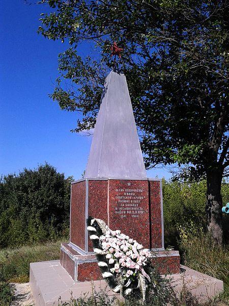 Mass Grave Soviet Soldiers Kostyantynivka