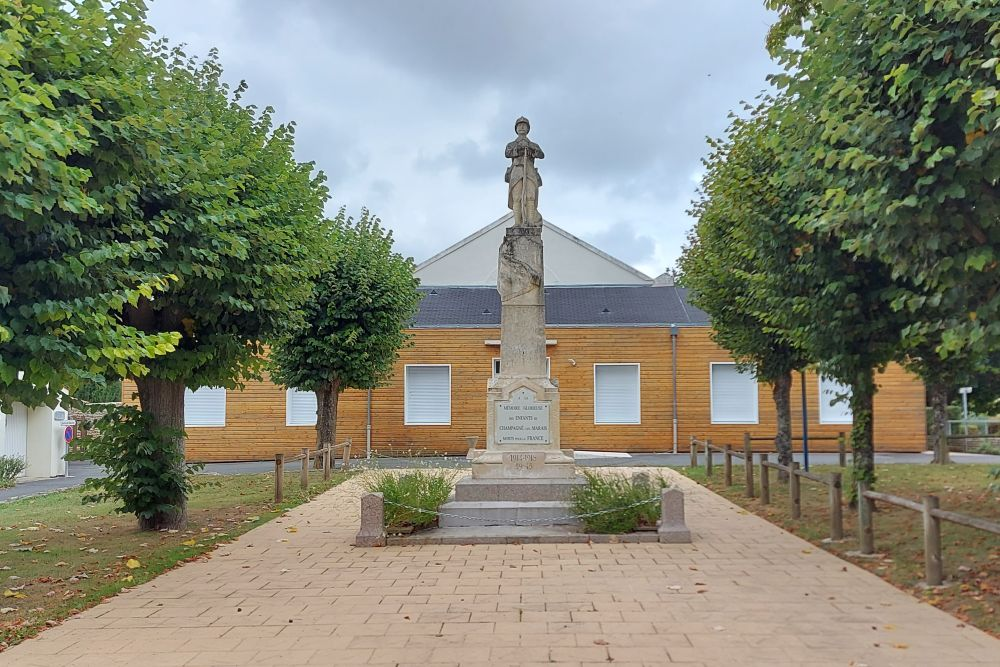 Oorlogsmonument Champagné-les-Marais