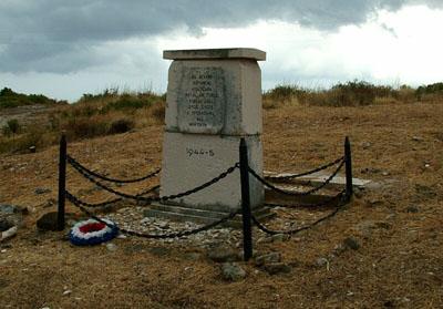 Monument Omgekomen RAF Piloten Vis