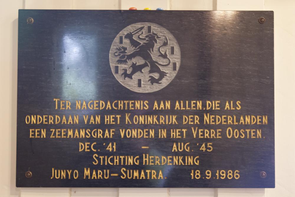 Plaque Dutchmen Far East