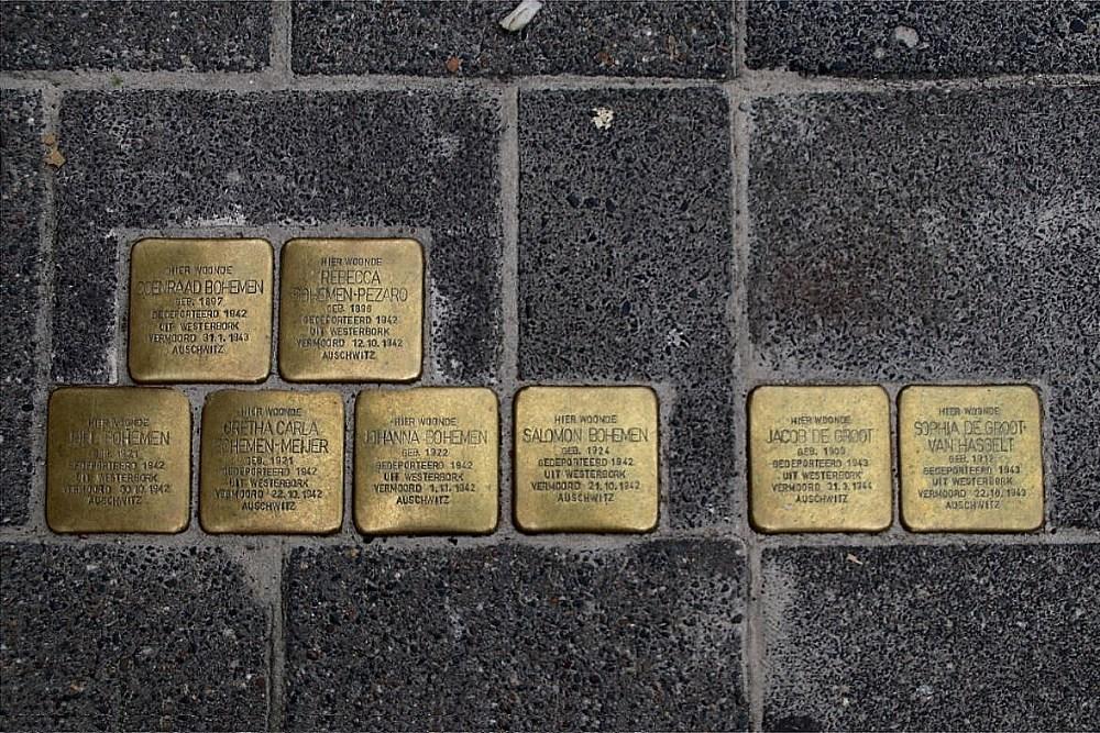 Stolpersteine A-weg 23a