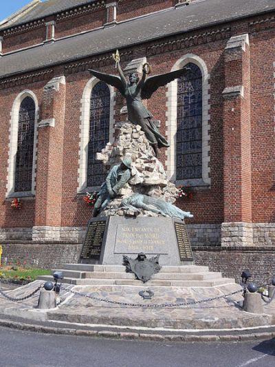 War Memorial Poix-du-Nord