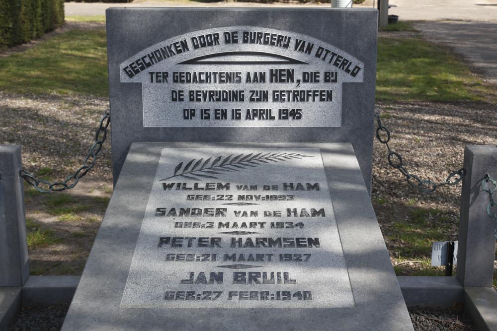 Nederlandse Oorlogsgraven Algemene Begraafplaats Otterlo